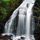 Moss Glen Falls, Stowe - Middle Section by Stephen Beattie