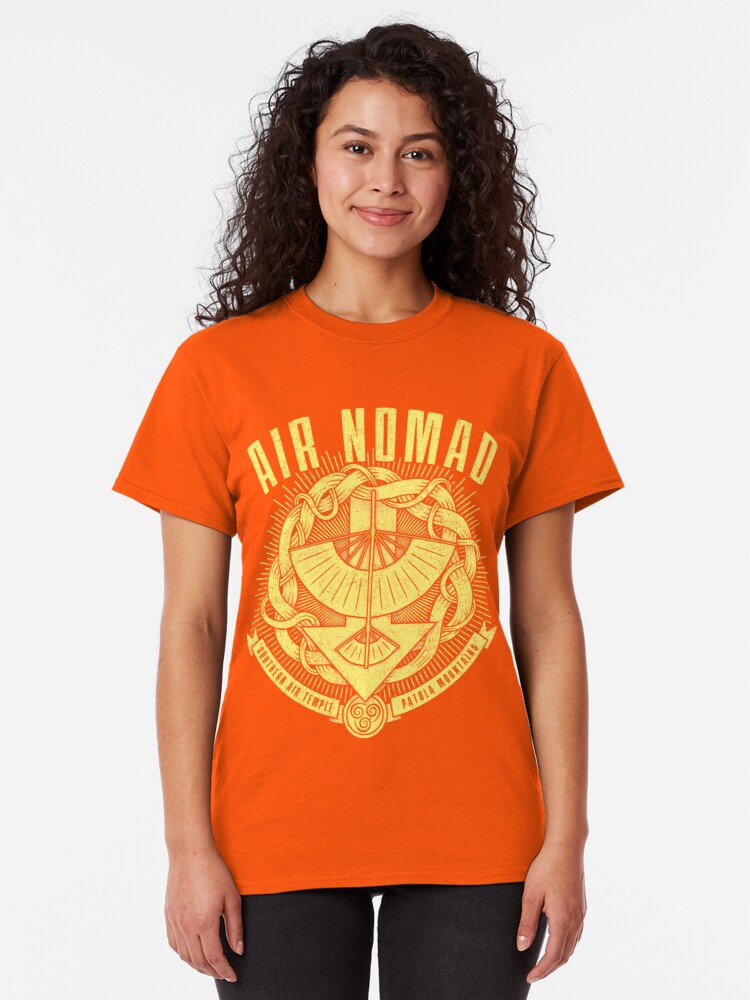 Alternate view of Avatar Air Nomad Classic T-Shirt