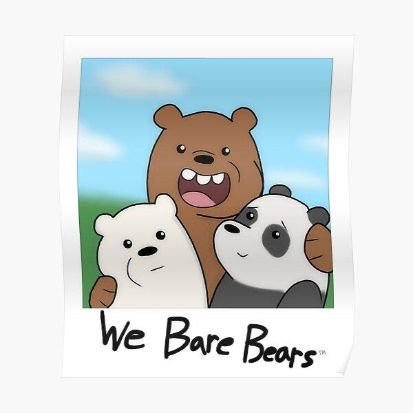 Bear Brothers Selfie Poster