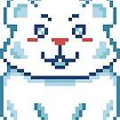 Cute Polar Bear Pixel by FrogNebula
