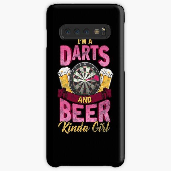 I'm a Darts and Beer Kinda Girl Funny Womens Dart Gift design Samsung Galaxy Snap Case
