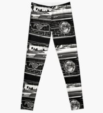 close up of Ford Mustang Leggings