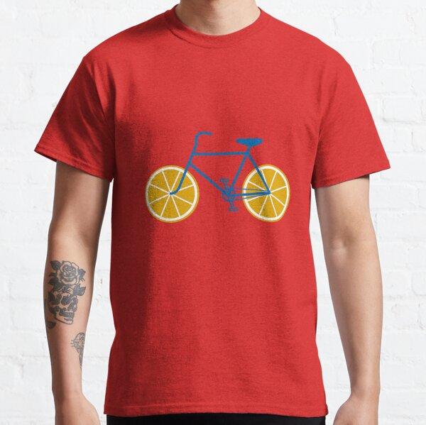 BICICLETA NARANJA Camiseta clásica