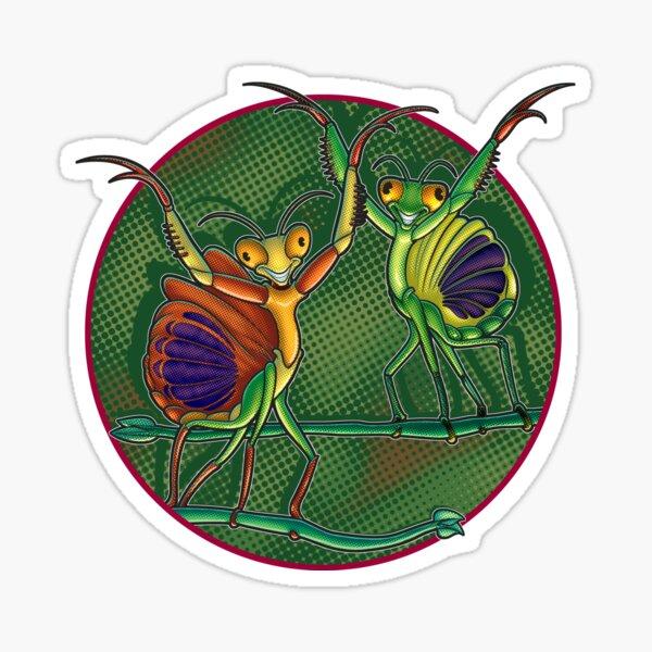 Mantis Dance Sticker