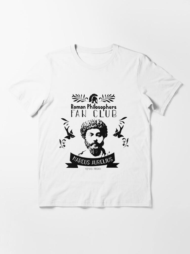 T-shirt essentiel ''Philosophes romains - Marc Aurèle': autre vue