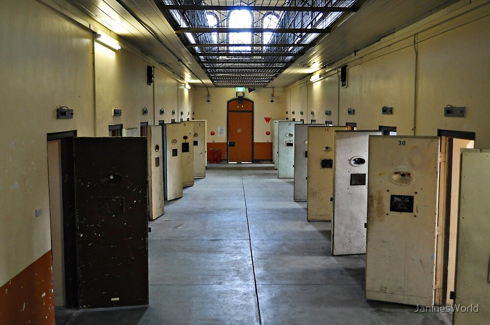 Prison Cells by JaninesWorld