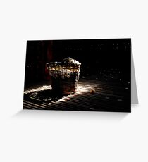 A basket of light Greeting Card