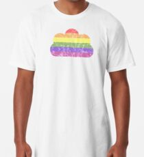 Clouds - LGBT+  Long T-Shirt
