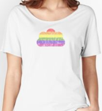 Clouds - LGBT+  Relaxed Fit T-Shirt