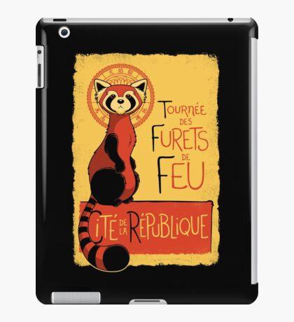 Les Furets de Feu iPad Case/Skin