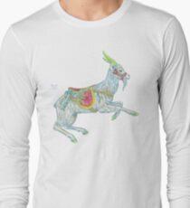 Carousel Goat Long Sleeve T-Shirt