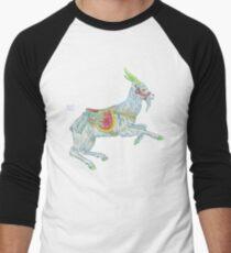 Carousel Goat Baseball ¾ Sleeve T-Shirt