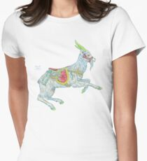 Carousel Goat Fitted T-Shirt