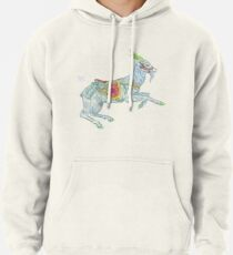 Carousel Goat Pullover Hoodie