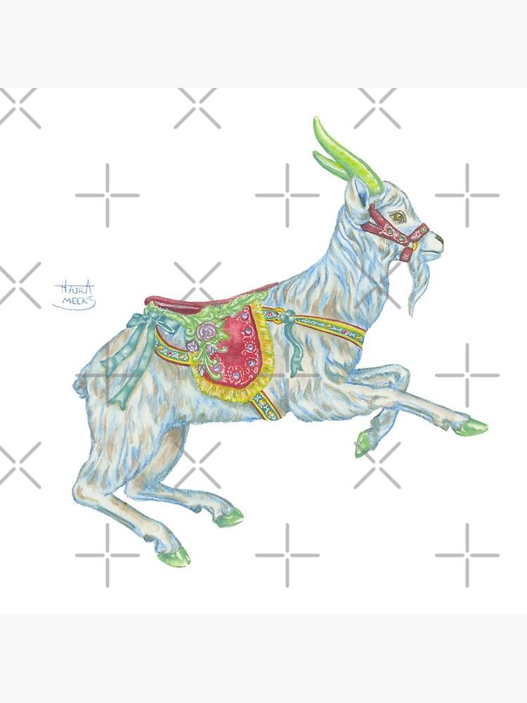 Carousel Goat by HajraMeeks