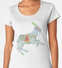 Carousel Goat Premium Scoop T-Shirt