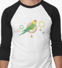 Candy Carolina Parakeet Baseball ¾ Sleeve T-Shirt