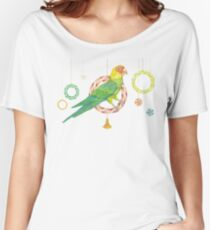 Candy Carolina Parakeet Relaxed Fit T-Shirt