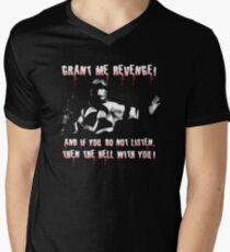 Conan - Grant Me Revenge! Men's V-Neck T-Shirt