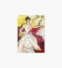 Zorn Lady Portrait Study Art Board Print