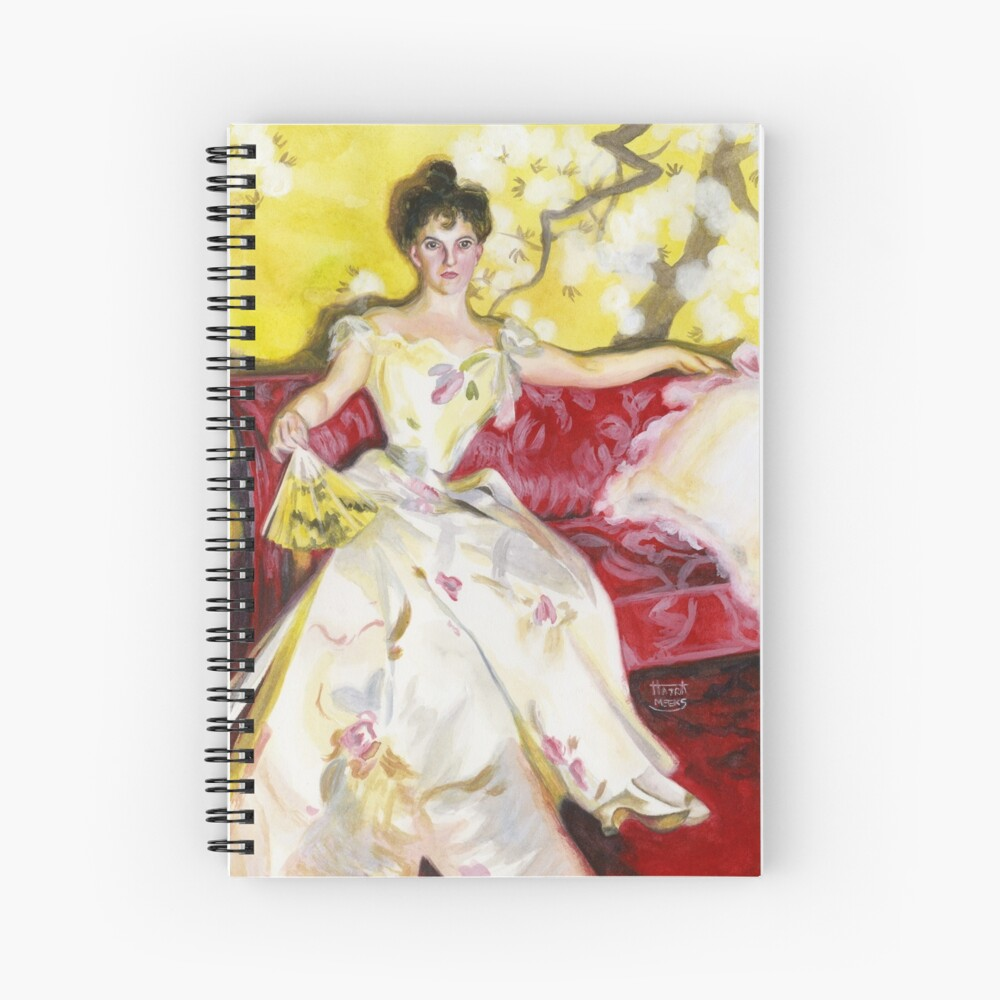 Zorn Lady Portrait Study Spiral Notebook