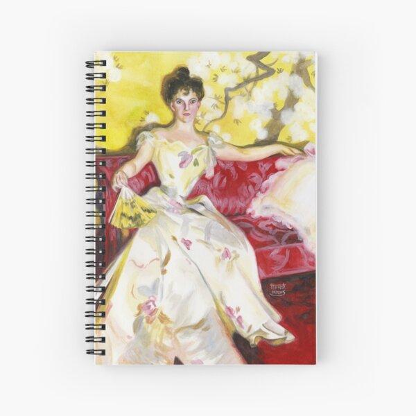 Zorn Lady Portrait Study Spiral Notebook