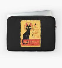 La Petite Sociere et le Chat Noir - Service de Livraison Laptop Sleeve