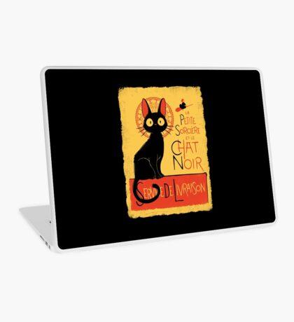 La Petite Sociere et le Chat Noir - Service de Livraison Laptop Skin