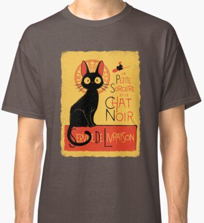 La Petite Sociere et le Chat Noir - Service de Livraison Classic T-Shirt