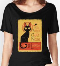 La Petite Sociere et le Chat Noir - Service de Livraison Women's Relaxed Fit T-Shirt