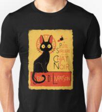 La Petite Sociere et le Chat Noir - Service de Livraison Unisex T-Shirt