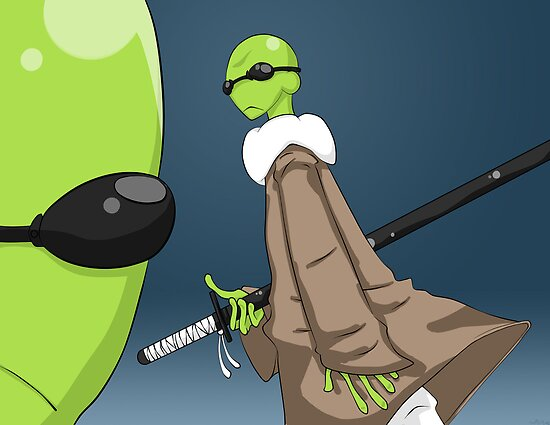 Amphibias Ninjacus by Michael Hall