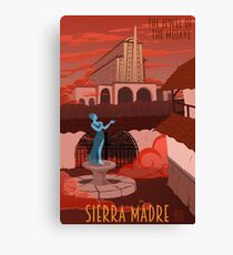 Welcome to Sierra Madre Canvas Print