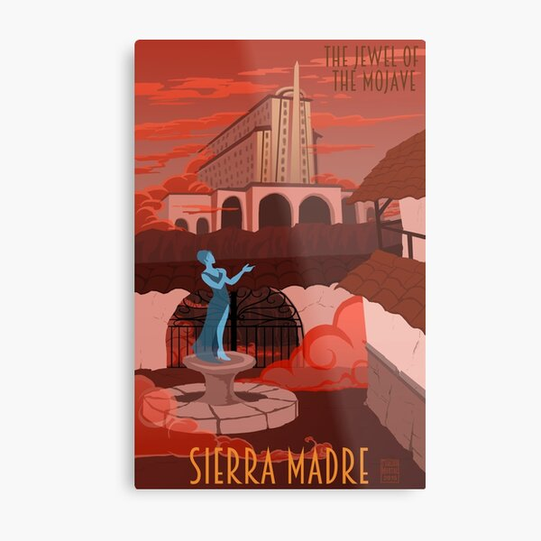 Welcome to Sierra Madre Metal Print