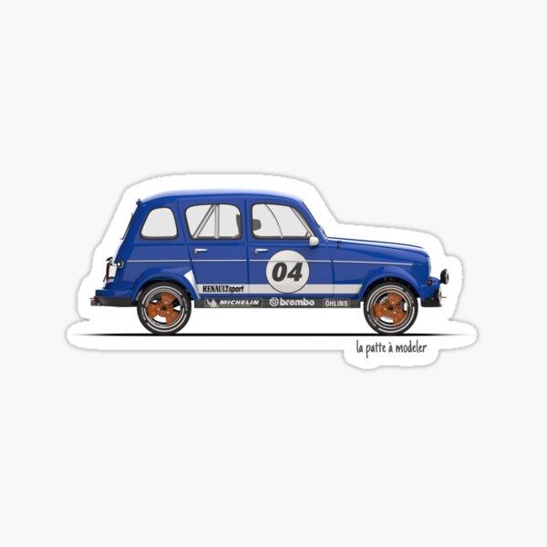 Renault 4L Gordini Sticker