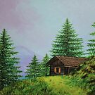 Cabin in the Woods by Alannis Turner