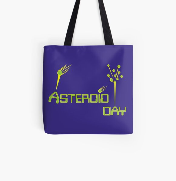 Asteroid Day All Over Print Tote Bag