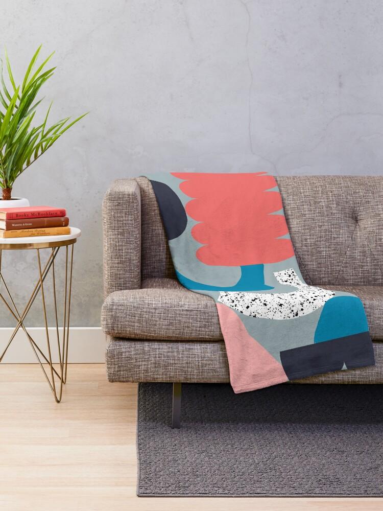 Alternate view of Equilibrium Throw Blanket