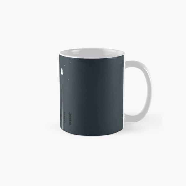 Interstellar Tribute - Minimalist Space Design Classic Mug