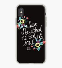 You Have Bewitched Me Body and Soul  iPhone Case