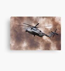 Military Helicopter Canvas Print