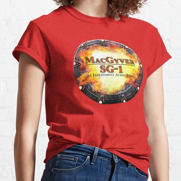 MacGyver/SG-1 Audio Series Logo Classic T-Shirt