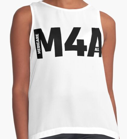 M4A - Medicare For All Sleeveless Top