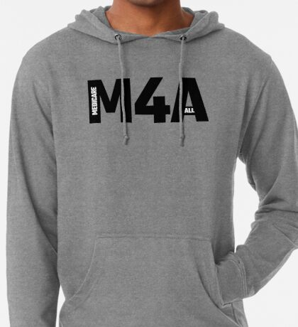 M4A - Medicare For All Lightweight Hoodie