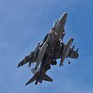 A fully loaded AV8B Harrier by Henry Plumley