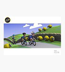 #PolyPeloton : Tour de Yorkshire Photographic Print