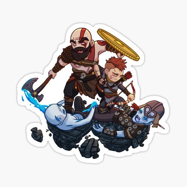 God of War - Dad of Boy Sticker