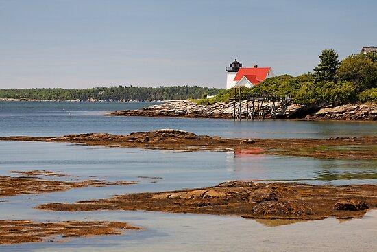 Hendricks Head Light   West Southport, Maine; scanned from ...  Hendricks Head Light