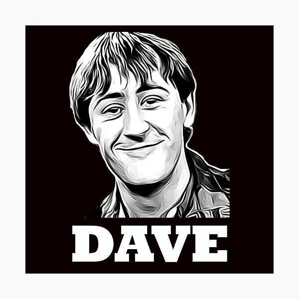 Dave - Rodney Trotter According to Trigger Photographic Print