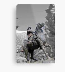 Pancho Villa rides through Tucson Metal Print